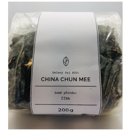 BIO China Chun Mee Organic Tea - zelený čaj - 200 g